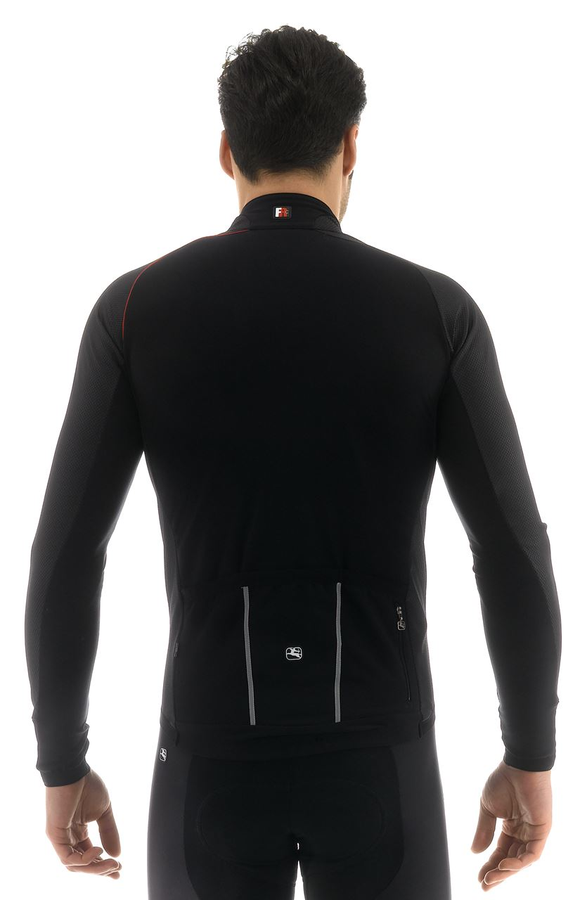 Picture of GIORDANA BODYCLONE FRC WINTER JERSEY BLACK