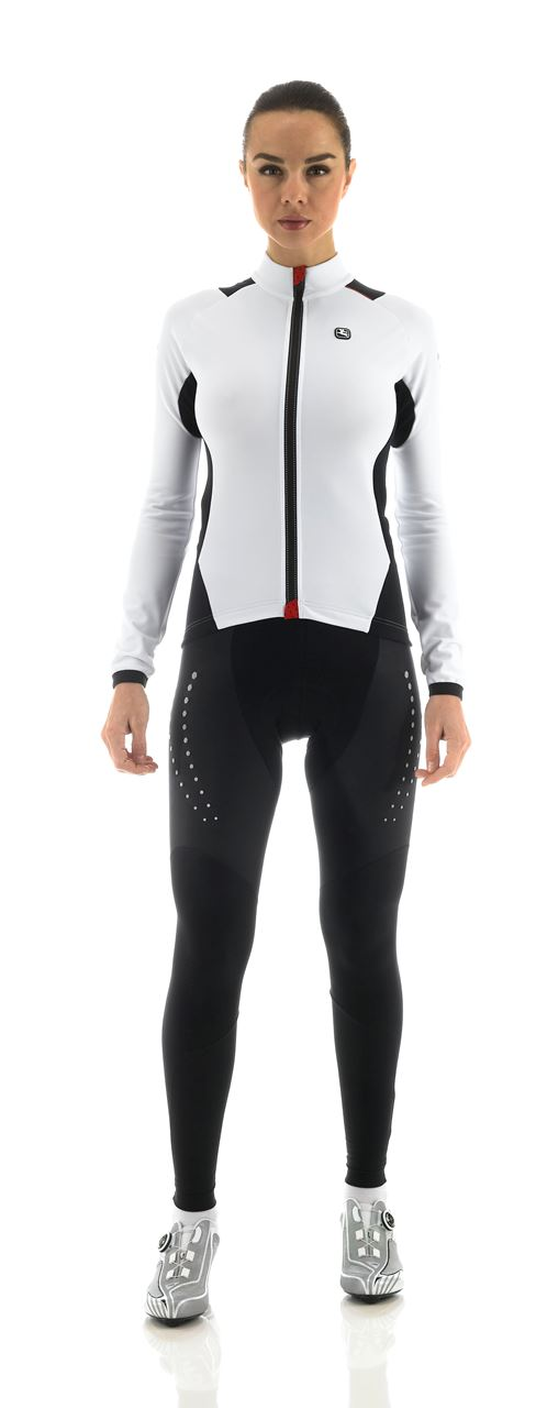 Picture of GIORDANA BODYCLONE FRC WOMENS WINTER JERSEY WHITE