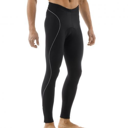 Picture of GIORDANA SILVERLINE SPORT TIGHT (WITH CHAMOIS) BLACK