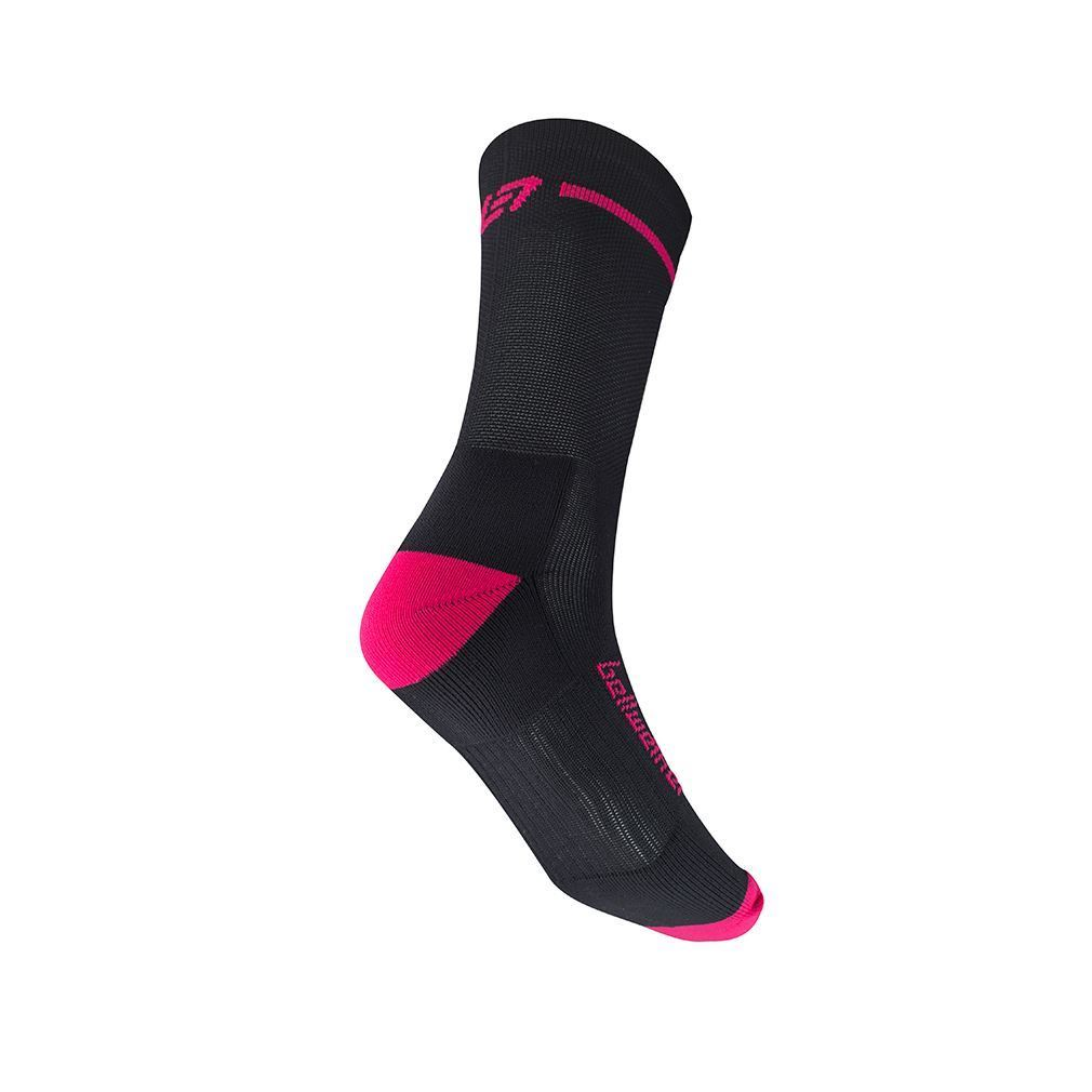 Picture of BELLWETHER OPTIME SOCK BLACK/BERRY