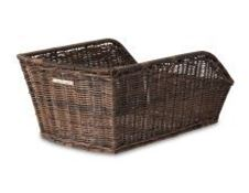 Picture of BASIL CENTO RATTAN LOOK REAR BASKET NATURE BROWN